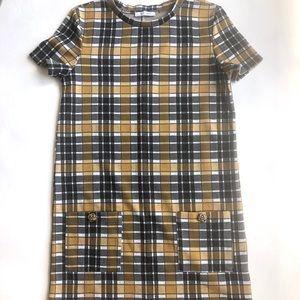 Zara Dresses - Zara Plaid Dress
